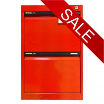 STATEWIDE 2 Drawer Metal Filing Cabinet *All Colours*