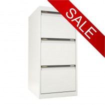 STATEWIDE 3 Drawer Metal Filing Cabinet *All Colours*