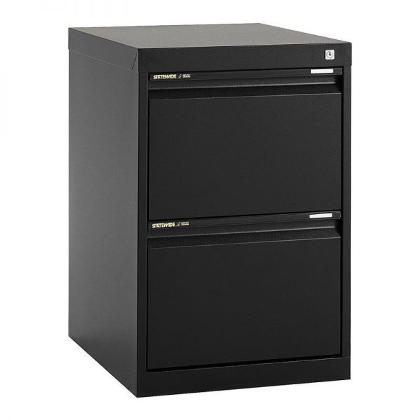 STATEWIDE 2 Drawer Metal Filing Cabinet *All Colours*-144