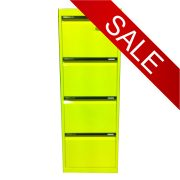 STATEWIDE 4 Drawer Metal Filing Cabinet *All Colours*-0