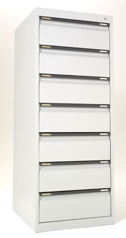 CD CABINET 7 DRAWER*All Colours* – Aus Office Furniture