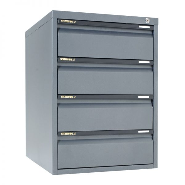Low Height Cabinets 4 Personal Drawer*All Colours* -0