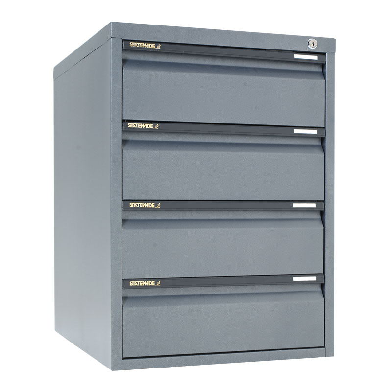 Cd Cabinet 4 Drawer All Colours Aus Office Furniture