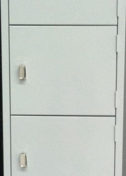 Steel Lockers 6 Door SLW6 *All Colours* 380W X 1800H X 450D-0