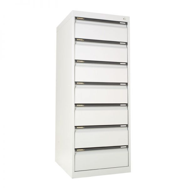 DUPLEX CABINET 7 DRAWER 8X5 CARD (200 X 125)*All Colours*-0