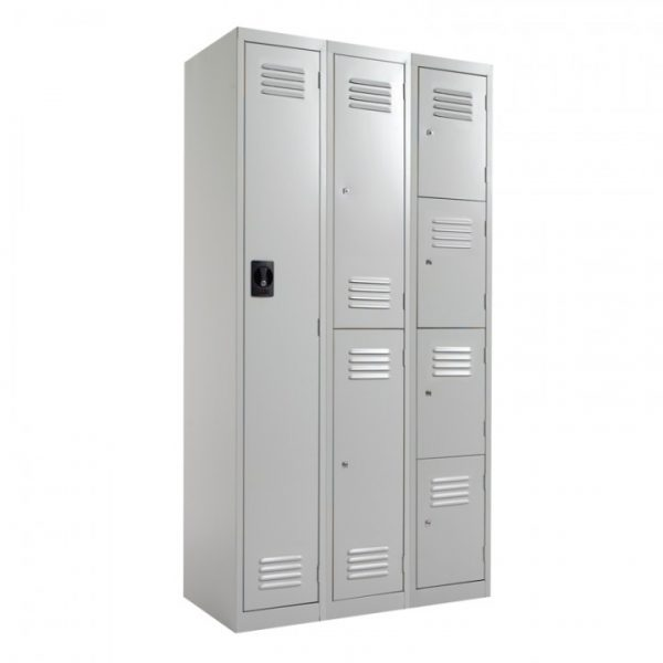 Steel Lockers 2 Door SL2 *All Colours - 300W X 1800H X 450D-24