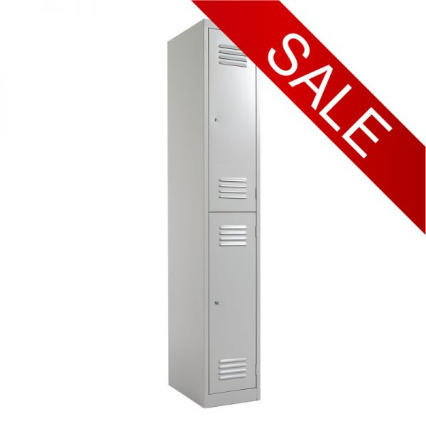Steel Lockers 2 Door SL2 *All Colours - 300W X 1800H X 450D-0