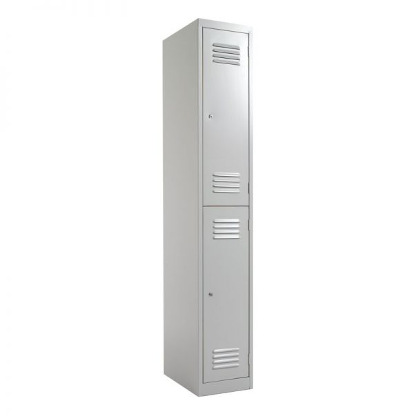 Steel Lockers 2 Door SLW2 *All Colours* 380W X 1800H X 450D-0