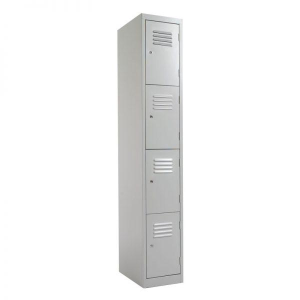 Steel Lockers 4 Door SLW4 *All Colours* 380W X 1800H X 450D-0