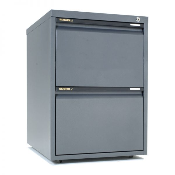 Mobile Cabinet 2 File Drawer*All Colours*-0