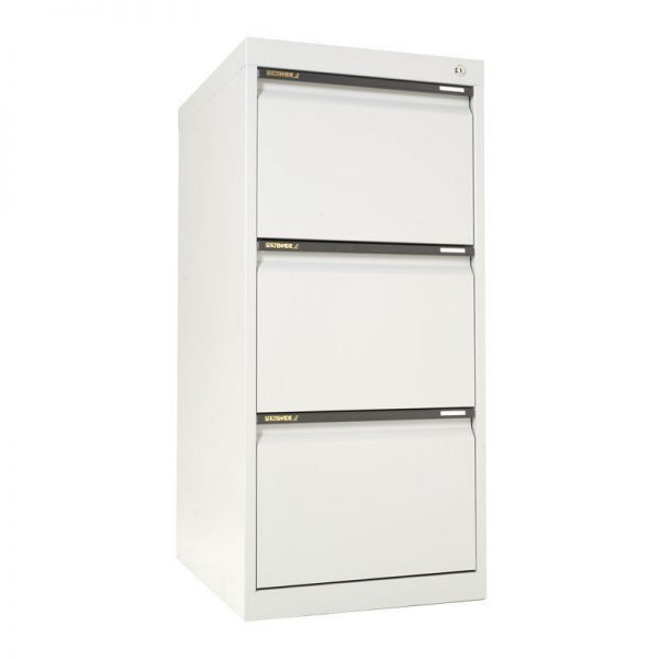 STATEWIDE 3 Drawer Metal Filing Cabinet *All Colours*-147