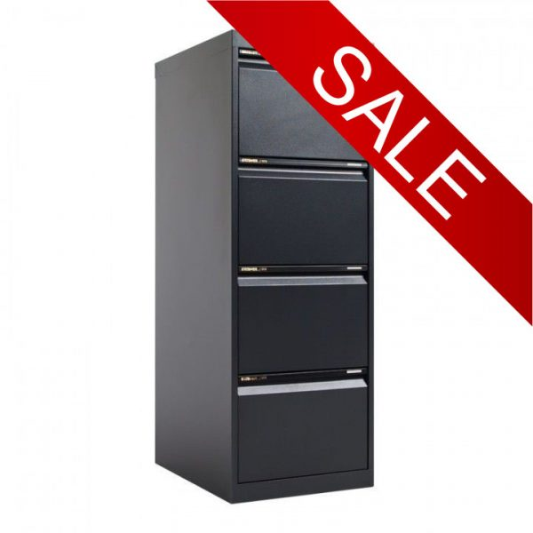 STATEWIDE 4 Drawer Metal Filing Cabinet *All Colours*-164