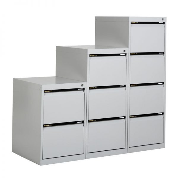 STATEWIDE 3 Drawer Metal Filing Cabinet *All Colours*-145