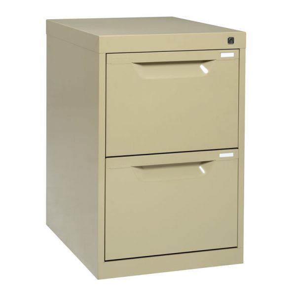 2 Drawer Metal Filing Cabinet *All Colours*-0