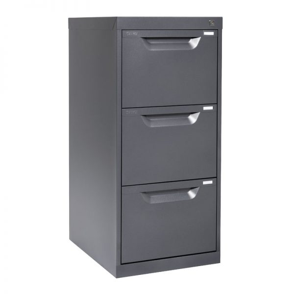 3 Drawer Metal Filing Cabinet *All Colours*-0
