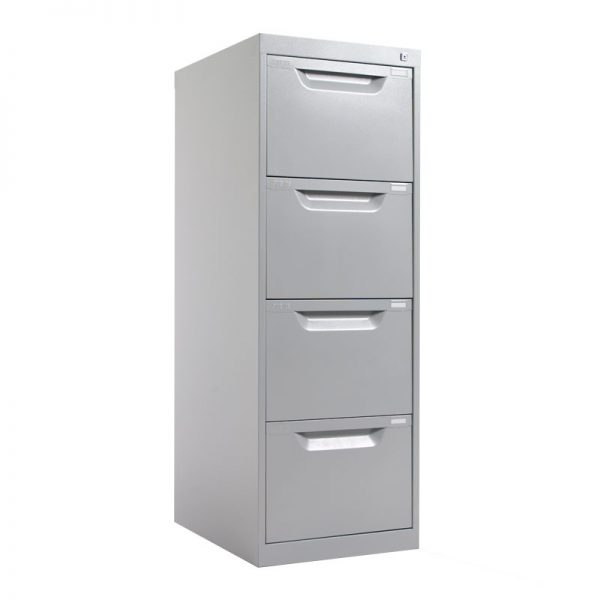 4 Drawer Metal Filing Cabinet *All Colours*-0