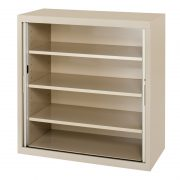 CUPBOARD 900 W X 1300 H X 455 D (SHELVES EXTRA)*All Colours*-0