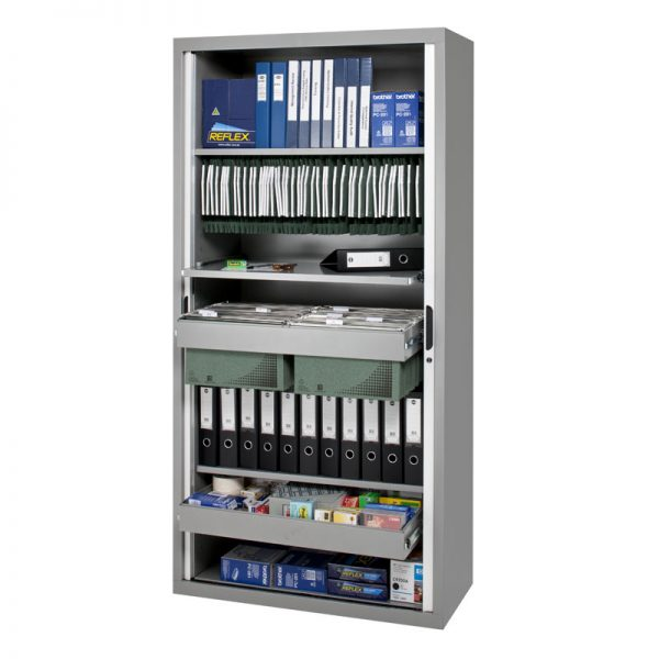 CUPBOARD 900 W X 2000 H X 455 D (SHELVES EXTRA)*All Colours*-105