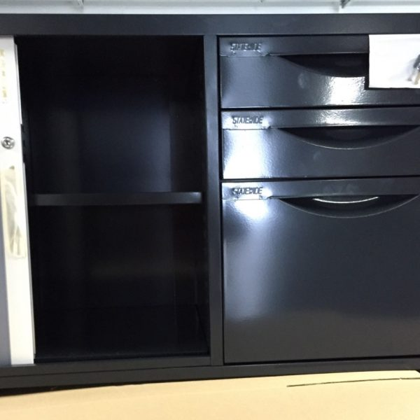 Caddy cabinet ( Mobile) 600mm(H) x 900mm(W) x 450mm(D) (left hand door)-0